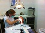 dentysta w pracy